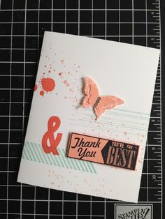 Having fun with the stamp sets Hello, Lovely and Gorgeous Grunge