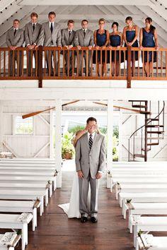 Photo Idea - Wedding Party Together Before Wedding (No peaking! Perfect Wedding, Dream Wedding, Wedding Day, Summer Wedding, Trendy Wedding, Church Wedding, Hotel Wedding, Wedding Ceremony, Wedding First Look