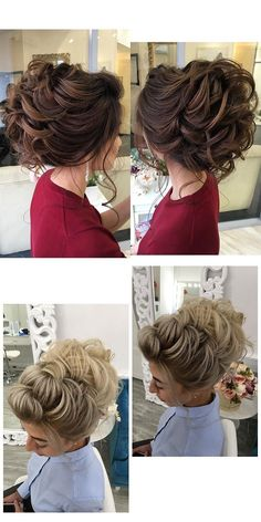 Stunning Wedding Hairstyles from - Forevermorebling Modern Hairstyles, Latest Hairstyles, Wedding Hairstyles, Wedding Blog, Wedding Day, Hair Wedding, Bridal Hair Inspiration, Low Updo, Vetement Fashion