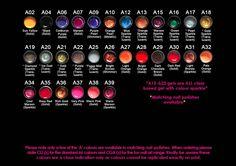 Standard Colours 2