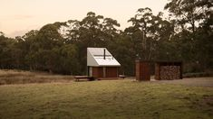 The Design Files - A Japanese-Inspired Hideaway In Idyllic Tassie Bushland - photo, Robert Maver. Architecture Awards, Interior Architecture, Interior Design, Minimalist House Design, Minimalist Home, Bruny Island, Wood Stone, The Design Files, Shed