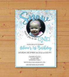 It's Snow Much Fun Invitation It's Snow Much by JMCustomInvites