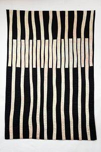 Fiber Art 'Architectural Reflections' - Carolyn T Abbott Motifs Textiles, Textile Patterns, Textile Art, Quilt Patterns, Bauhaus Textiles, Embroidery Patterns, Fabric Art, Fabric Design, Pattern Design