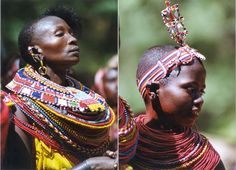 Not less spectacular are the Samburu ladies when they wear their traditional jewelry.