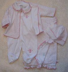 Newborn Take Me Home Outfits | Girls Take Me Home Outfit - 4 - Piece Take Me Home Outfit in the ...