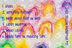 Prompt6ix! Personal Prompt#21 - creative prompts - create explore paint