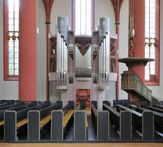 Korbach III/P/34 Deutschland, Hessen Evang. Kilianskirche - Kuhn orgelbau