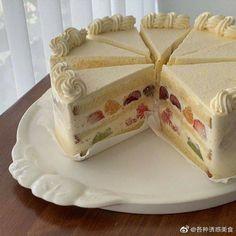 Cute Food, Yummy Food, Cake Wallpaper, Pretty Cakes, Aesthetic Food, Food Menu, Food Design, Cake Designs, Sweet Treats