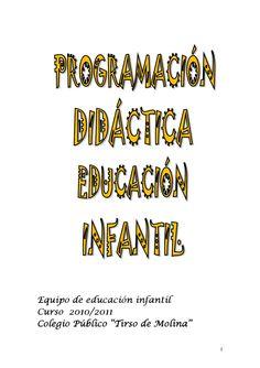 Programación Didáctica Infantil Conte, Author, Names, Teacher, Education, Books, Articles, Simple, Teaching Supplies