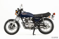 When you talk about old Honda road bikes, it doesn't tale long for the conversation to reach a story of a 400 four, enter our 1977 Honda Supersport. Honda Motorcycles, Custom Motorcycles, Cars And Motorcycles, Barbour Motorcycle Jacket, Honda Cb400, Road Bikes, Dirt Bikes, Retro Bike, Honda S