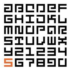 Sans Serious Typeface by John Skelton, via Behance