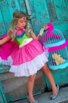 FairytaleJubilee ...found on etsy....way too cute and a fun way for the girls to be superheros too!
