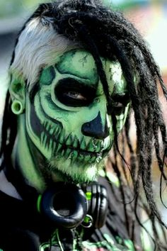 A great makeup pattern for a males costume