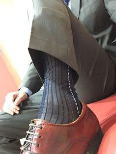 Foot Socks, Men's Socks, Dress Socks, Silk Socks, Sheer Socks, Sheer Dress, Sock Shoes, Mens Fashion, Fashion Tips