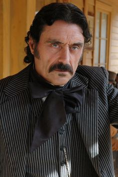"Al Swearengen – pimp, crook, murderer and a proto entertainment mogul – was based upon the actual Al Swearengen who thrived in the notorious frontier town in the Wild West (""Deadwood"")"
