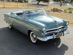 1952 Ford Crestline Sunliner Convertible...Re-pin brought to you by agents of #Carinsurance at #HouseofInsurance in Eugene, Oregon