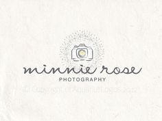 Premade photography logo design using a camera by AquariusLogos, $19.85