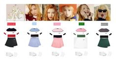 """""""RED VELVET - ICE CREAM CAKE❤️"""" by mabel-2310 on Polyvore featuring Kenzo and Topshop"""