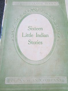 Sixteen Little Indian Stories 1922 Book by by Emma by kookykitsch, $9.99