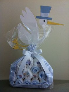 Stork bundle- Gifts By Crystal