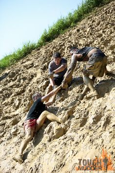 Cliff Hanger | Tough Mudder    looks like fun!! Maybe someday...