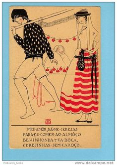 Alice Rey Colaço, postal, 1920s | Flickr - Photo Sharing!