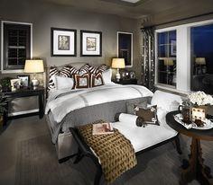 Model home master bedrooms