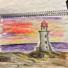 • water color with ink •