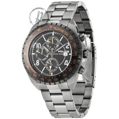 Police - Men Stainless Steel Bracelet Tachymeter Watch - 12777JSU-02M  RRP: £185.00 Online price: £111.00 You Save: £74.00 (40%)  www.lingraywatches.co.uk
