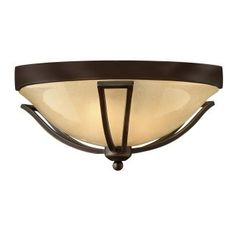 View the Hinkley Lighting 2633-GU24 2 Light Indoor Flush Mount Ceiling Fixture from the Bolla Collection at LightingDirect.com.