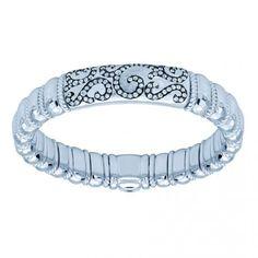 #Gabrielco #Envy #Bangle #Boutique #Silver  artistic design!