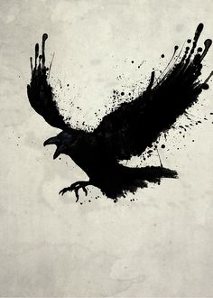In Book II, a crow and raven are discussing Coronis& cheating on Apollo. The crow tells the raven to not tell Apollo, but the raven does any ways. The Raven, Raven Art, Tattoo Drawings, Body Art Tattoos, Cool Tattoos, Tree Tattoos, Hand Tattoos, Sleeve Tattoos, Silhouette Aigle