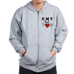 EMT FOR LIFE Zip Hoodie