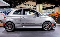 The 2013 Fiat Abarth.  My next car.  (Although, I would be perfectly happy to only have the same Civic for the rest of my life.)