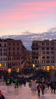 Rome at sunset- what a dream! 🤩 The cotton candy skies illuminate the gorgeous architecture and sets the perfect scene for an evening in Roma. Have you checked out the view from the top of the Spanish Steps before? Beautiful Places To Travel, Cool Places To Visit, Places To Go, City Aesthetic, Travel Aesthetic, Aesthetic Clothes, Rome Travel, Italy Travel, Italy Vacation