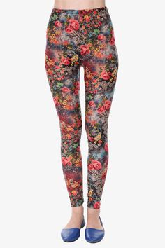 Inspired Ditsy Floral Leggings