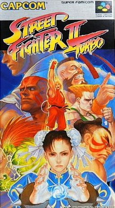Street Fighter II Turbo (Capcom) Super Famicom
