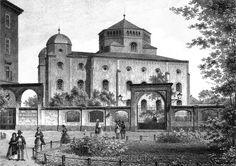Bildergebnis für grundriss alte synagoge dresden