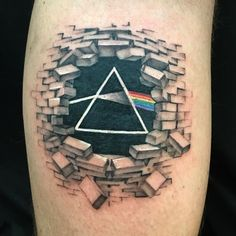 """129 Likes, 2 Comments - Elyssa Dion (@ebtattoos) on Instagram: """"Fun lil Pink Floyd banger from yesterday on @achalmers98 !! #tattoo #tattoos #ink #inked #pinkfloyd…"""""""