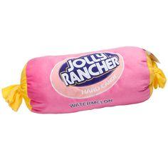 Big Plush Watermelon Jolly Rancher Candy Pillow