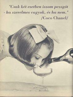 Coco Chanel #idézet | A kép forrása: Királynőképző