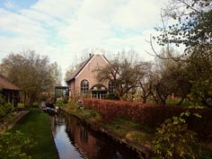 Giethoorn Lovely village in the north of Netherlands with no streets, but river