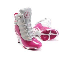 Air Jordan 6 Retro High Heels Pink White