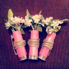 Shotgun Shell Boutonniere by ShotgunShellChic on Etsy, $5.00