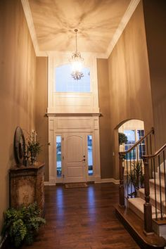 1000 images about foyer decorating on pinterest two for 2 story foyer decorating pictures