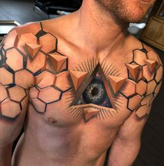 These 27 Hyper-Realistic Tattoos Are Simply Awesome! - Joyenergizer tattoo These 27 Hyper-Realistic Tattoos Are Simply Awesome! tattoos for women Tattoos 3d, Badass Tattoos, Trendy Tattoos, Hand Tattoos, Tattoos For Women, Tattoos For Guys, Warrior Tattoos, Temporary Tattoos, Sleeve Tattoos