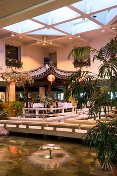 "[Holiday Inn Select Montréal Centre-Ville] ""The only Asian inspired hotel in Montréal. Visit the fine Feng Shui establishment known for the best Dim Sums at Chez Chine Restaurant and for its perfect location just next to the Convention Center. You will be amazed by the unique decor and interior pond with real fish and fountain!"""