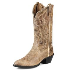 Cowboy Boots Heritage Western R Toe - Ariat = LOVE