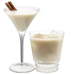 RumChata martinis.  These are my new favorite drink.
