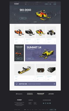 OUTDRSY e-commerce website design